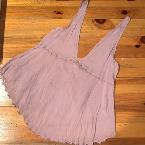 Free People Intimately Lavender Top NWT